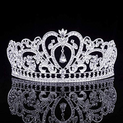 ZYMLOVE Tiaras and Crowns Queen Birthday Princess Bridal Wedding Prom Pageant Miss Universe product image