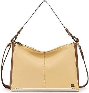 The Sak Camila Leather Shoulder Bag Purse Butter Block