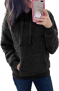 teddy fleece hoodie
