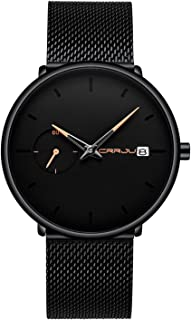 Men's Watches Casual Simple Analog Quartz Wrist Watch...