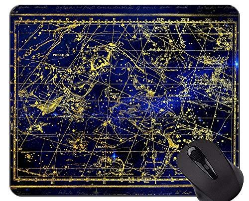 Mauspad Anti-Rutsch, Sternbild Perseus Andromeda Tierkreis-Themen der Gummimausunterlage