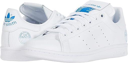 Footwear White/Footwear White/Bluebird