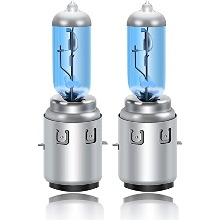 Dzg S2 Ba20d Halogenlampen 12v 35 35w Super Weiße Scheinwerferlampen 6000k Motorrad Hi Lo Glühlampe 2 Stück Auto