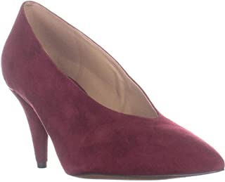 Womens Lizzy Suede Closed Toe Classic Pumps