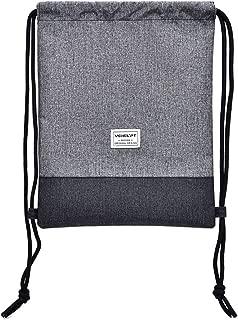 COAFIT Drawstring Bag Large Splash Proof Travel Light Weight Sack Students Drawstring Bag