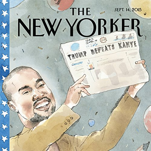 The New Yorker, September 14th 2015 (Patrick Radden Keefe, Kelefa Sanneh, Amy Davidson) cover art