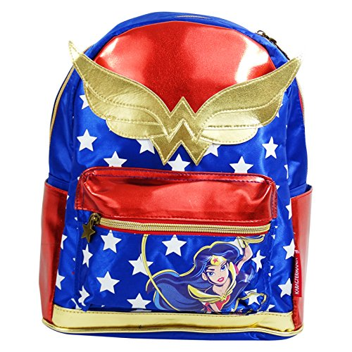 DC Comics Superhero Girls Wonder Woman Zaino Medio Scuola Tempo Libero Medio