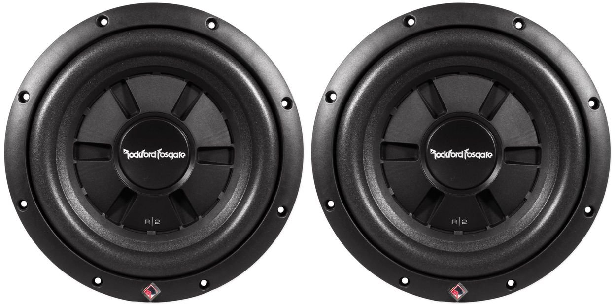 Rockford Fosgate R2SD4 10 Shallow Subwoofers