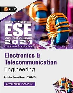 UPSC ESE 2021 : Electronics & Telecommunication Engineering - Guide