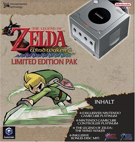 GameCube - Konsole inkl. The Legend of Zelda: The Wind Waker (Limited Edition Pak)