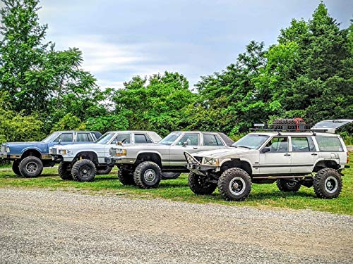 4x4 Cars Go Trail Riding at Windrock