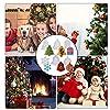 Stampi Natalizi Resina, 5PCS Silicone Stampo, Cristalli Epossidici, Albero di Natale, Fiocchi di Neve, Alce, Fai da Te Resina Cristallo Decorazioni per Albero di Natale, Ornamento Buon Natale Regalo #5