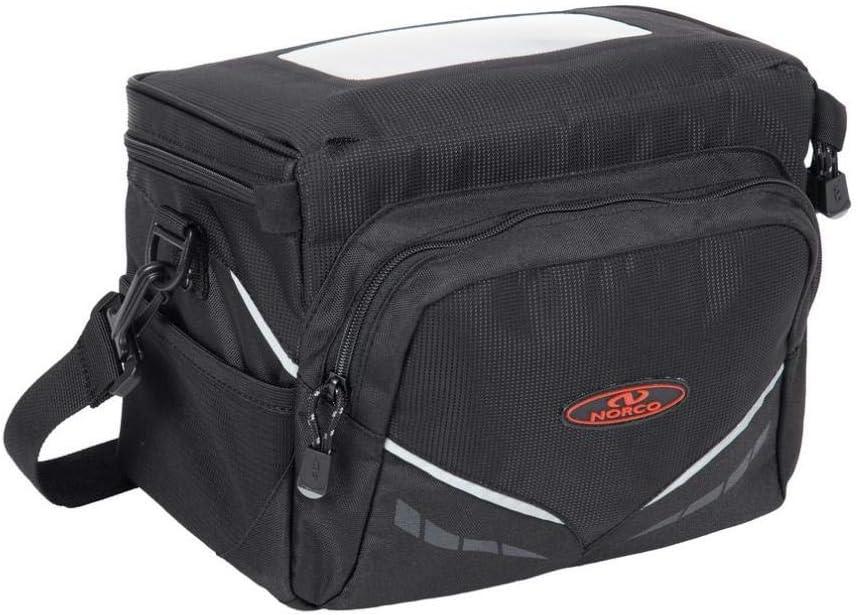 Norco Unisex - low-pricing Adult 70% OFF Outlet Frazer Black Handlebar 5L Bag E-Bike