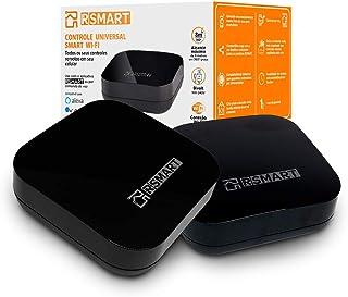 Kit 2 Smarts Controle Universal Inteligente RSMART Wi-Fi Infravermelho - Compatível com Alexa