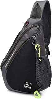 Sponsored Ad – Accompanying Male Bag Splicing Male Chest Bag Single-shoulder Cross-body Bag Casual Commuter Bag Portable W...