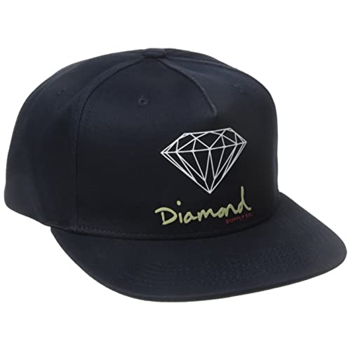 Diamond Supply Co. Men s OG Script Brilliant Snapback 8061d276a8ff