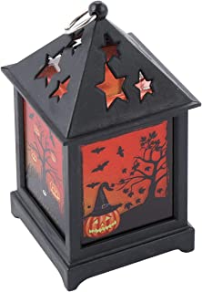 TOYANDONA Halloween Lantern Pumpkin Flameless Lantern LED Pumpkin Flickering Lamp Ghost Light Home Ornaments for Halloween...