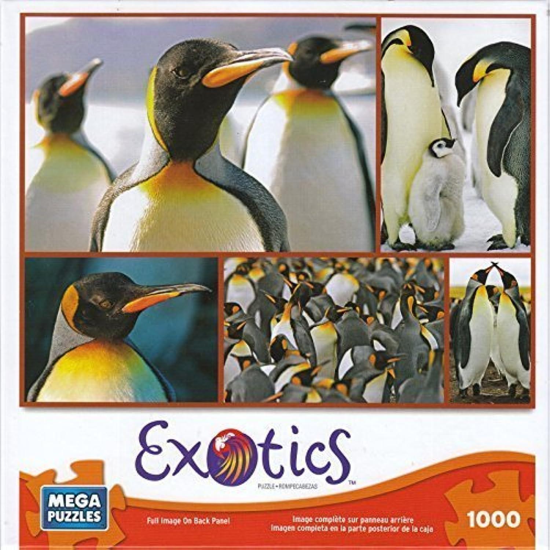 Penguins 1000 Piece Exotics Mega Puzzle by Mega Brands by Mega Brands