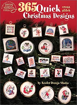 365 Quick Cross Stitch Christmas Designs 0881959715 Book Cover