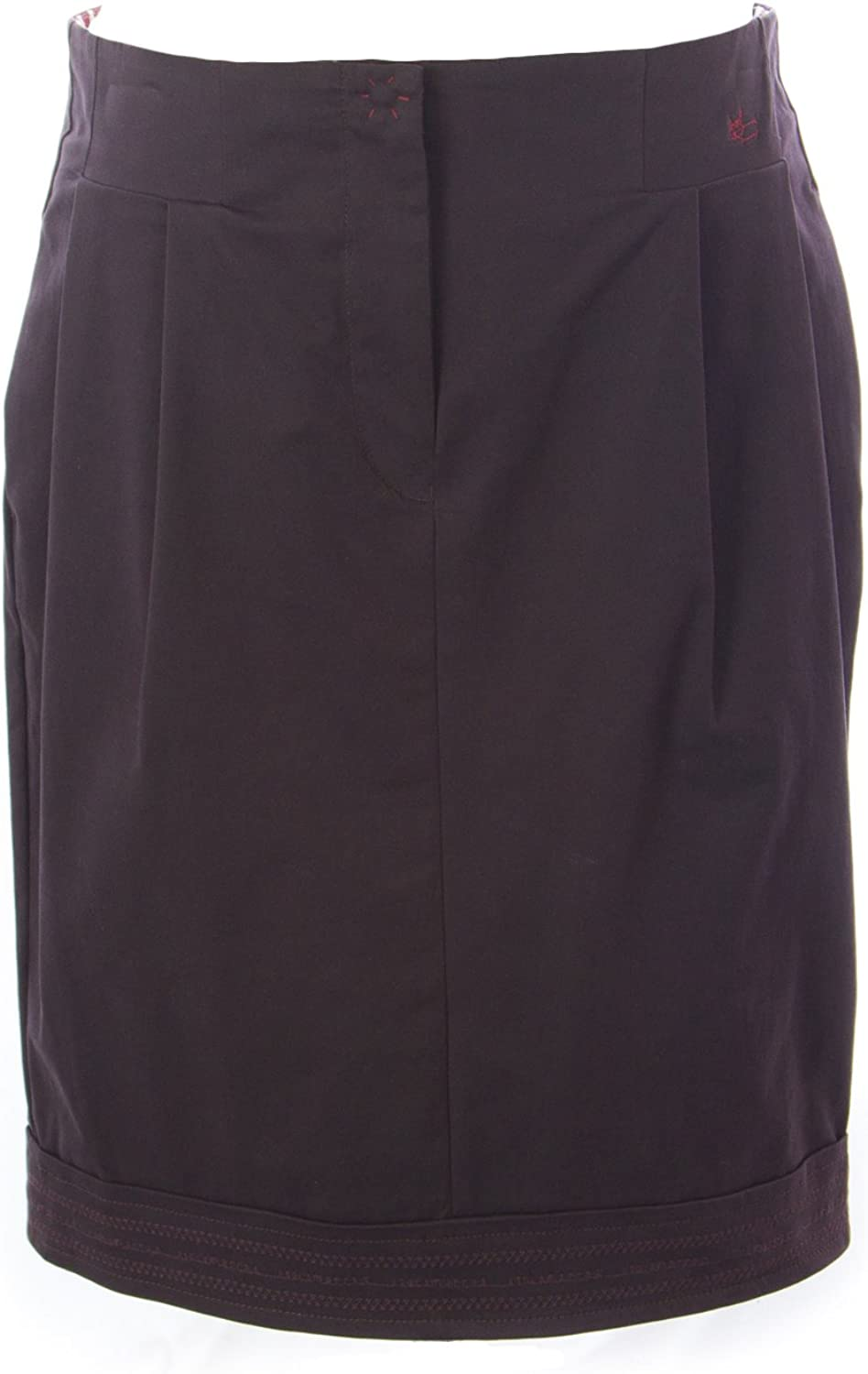 I'M ISOLA MARRAS Women's Cotton Skirt 29 Dark Purple