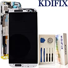 KDIFIX For HTC one M8 LCD Touch Screen Assembly + Frame with Full Professional Repair Tools kit (WHITE+RRAME)