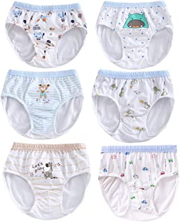 9a71e0d40e46 BAOBAOLAI Baby Boys Cotton Underwear Kids Boxer Briefs Cartoon Animal  Patterns Short Panties Knickers Pack of