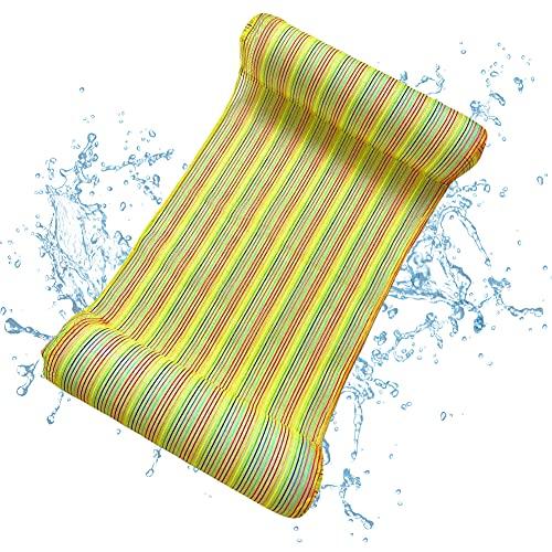 Hilloly Hamaca de Agua, Hamaca Flotante, Cama Flotante de Agua, Pool Tumbona...