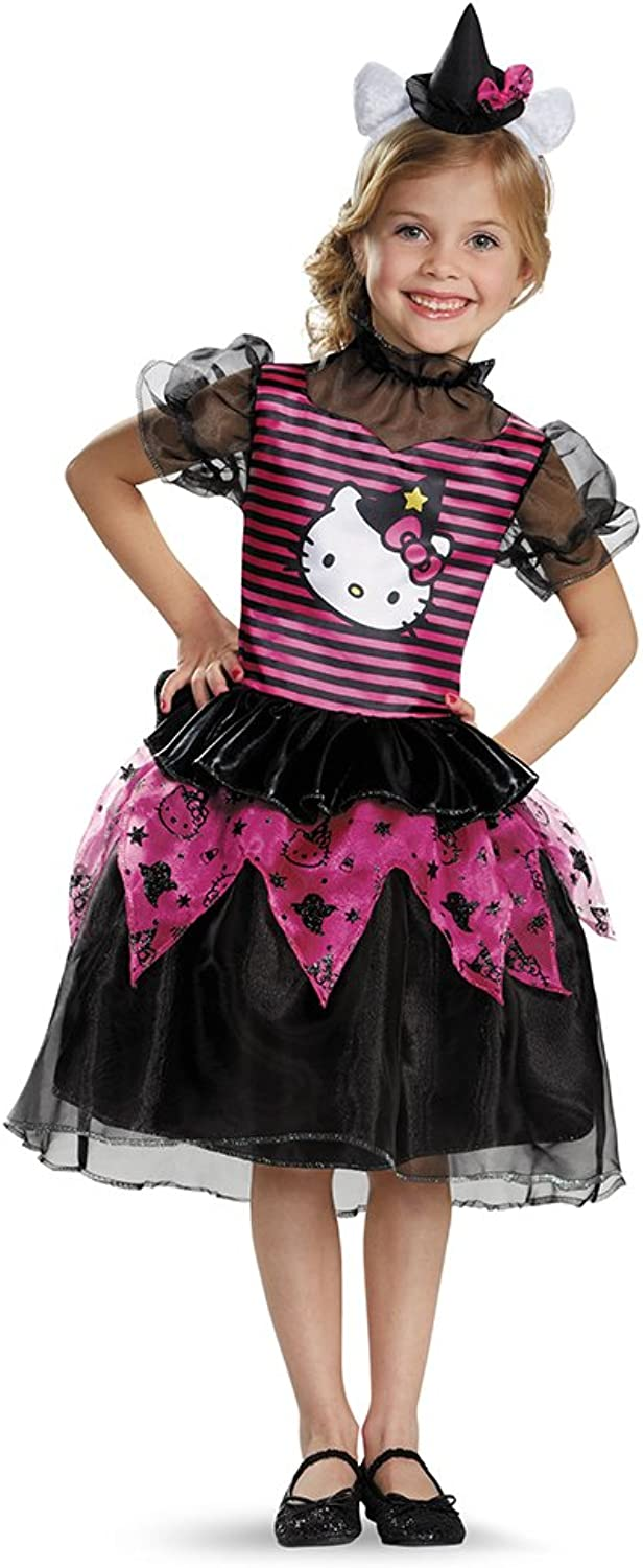 Hello Kitty Witch Classic Costume, Small (4-6x)