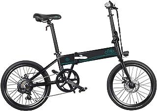 KiMiLIKE Bicicleta eléctrica FIIDO D4s 10.4Ah 36V 250W 20 Pulgadas Bicicleta de ciclomotor Plegable 0KM Rango de kilometra...