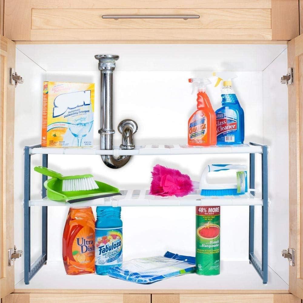 Stalwart Adjustable Under Sink Organizer Regular discount Unit 11.325