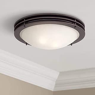 Modern Ceiling Light Flush Mount Fixture Bronze 16