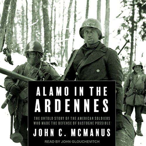 Alamo in the Ardennes audiobook cover art