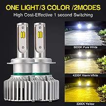 2 units LUNEX H7 Blue White 477 Headlight Halogen Bulbs White Color 12V 55W PX26d 3700K duobox