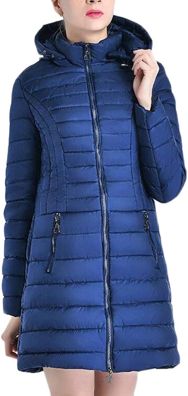 Esast Women Hooded Packable Down Puffer Coat Winterbreaker Down Jackets