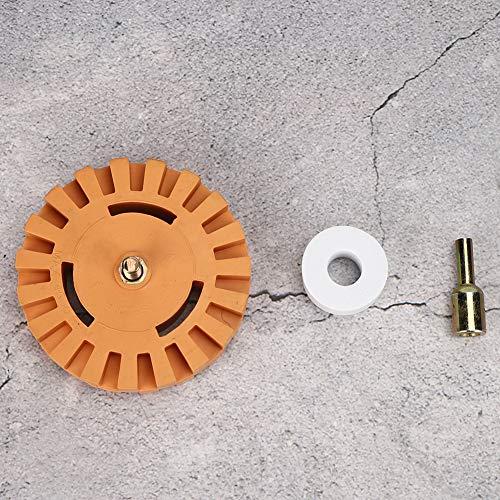 Oumefar Reiniger Scheibenradierer Radkleberentferner 25mm Durchmesser zum Entfernen