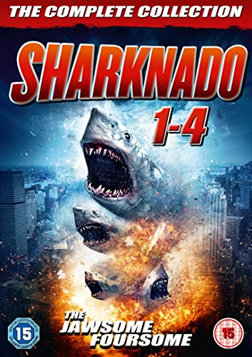 Sharknado 1-4 Box Set [DVD] [UK Import]
