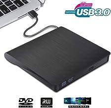 VGROUND Grabadora CD/DVD Externa, Ultra Slim Portátil
