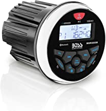 BOSS Audio Systems MGR350B Marine Gauge Receiver - Bluetooth, Digital Media MP3 Player, no CD Player, USB Port, AM FM Radio, Weatherproof
