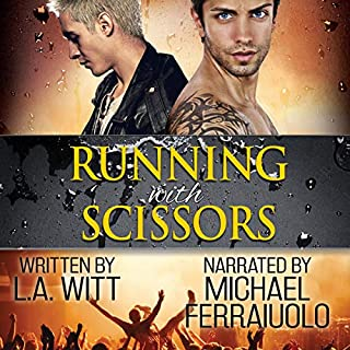 Running with Scissors audiobook cover art