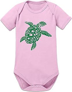 Shirtcity Schildkröte Baby Strampler by