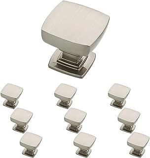 Franklin Brass P29542K-SN-B Parow Kitchen Cabinet Hardware Knob, 10 Pack, Satin Nickel