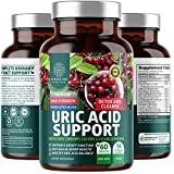 N1N Premium Uric Acid Support for Men and Women [14 Potent Herbs] All Natural Kidney Support with Tart Cherry, Milk Thistle, Celery, Chanca Piedra, 60 Veg Caps