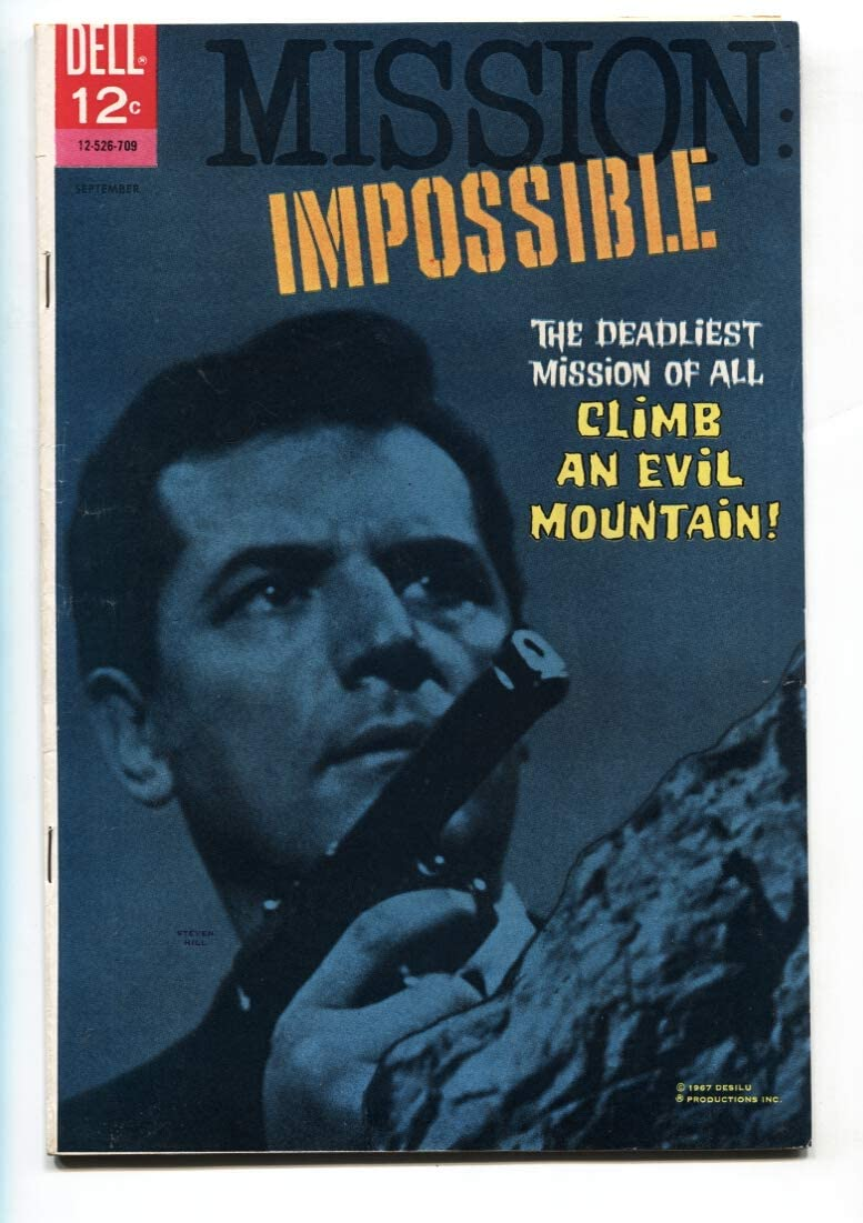 Mission Impossible Selling rankings #2 1967-Dell Comic- FN+ TV Our shop most popular