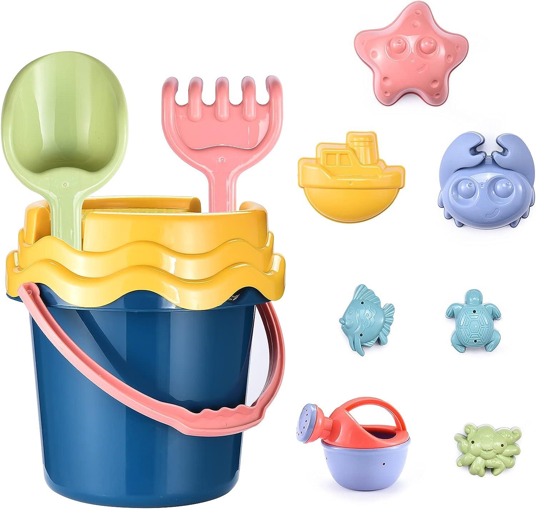 Kids Beach Sand Toys Set Molds Cheap sale Arlington Mall Mold 11pcs