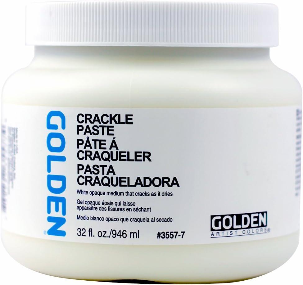 GOLDEN Acryl Med 32 Oz Crackle Paste