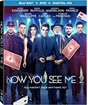Now You See Me 2 [Blu-ray + DVD + Digital HD]