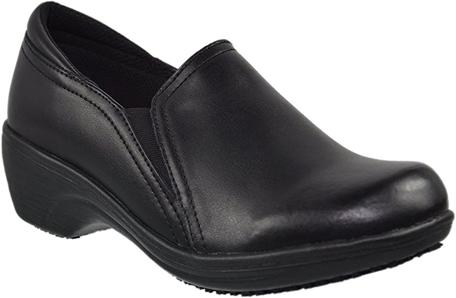 Laforst Darcy 7400 Womens Work Slip Resistant Heeled Slip On shoes