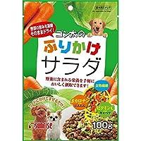 (まとめ買い)サンライズ ゴン太のふりかけサラダ 100g 【×24】