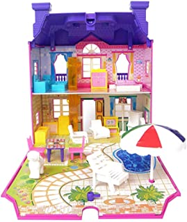 Niños Juguete Casa Casa de Muñecas Residential doble