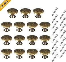5 Set Messing Vögel Design Schrank Küchenschrank Türgriff Knopf Griffe
